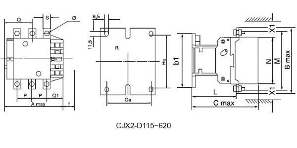 AC CONTACTOR D0115-D620