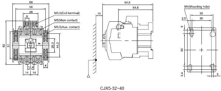 CJX5-32-40