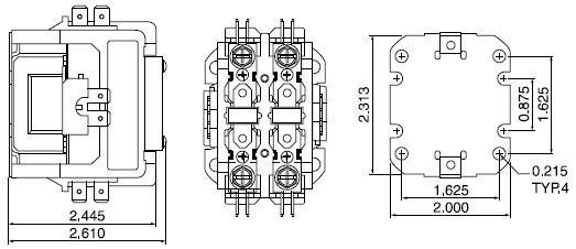 CJX9 Air Condition AC Contactor1