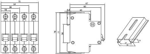 C45N Dimension