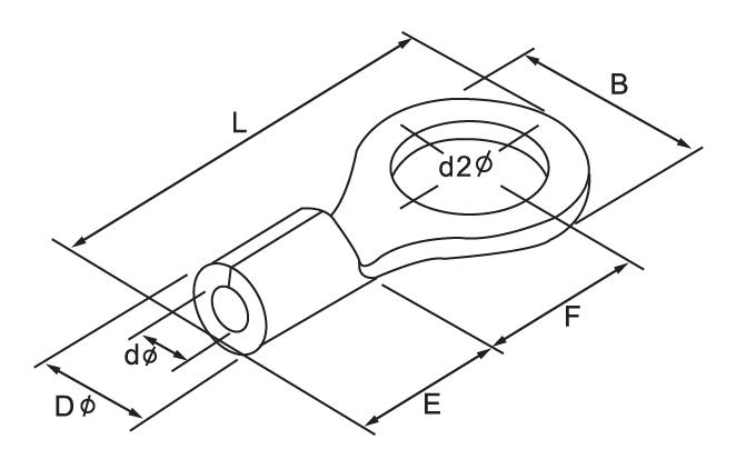 Ring Naked Terminal size