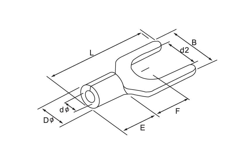 Spade Naked Terminal(type Tu)size